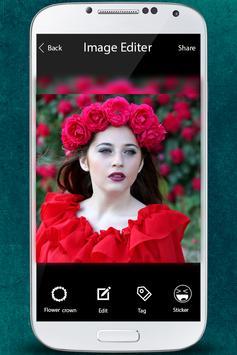Flower Crown Photo Editor apk screenshot