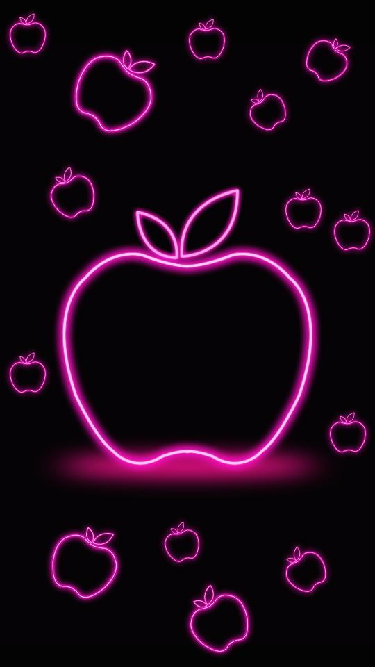 Neon Apple Live Wallpaper For Android Apk Download