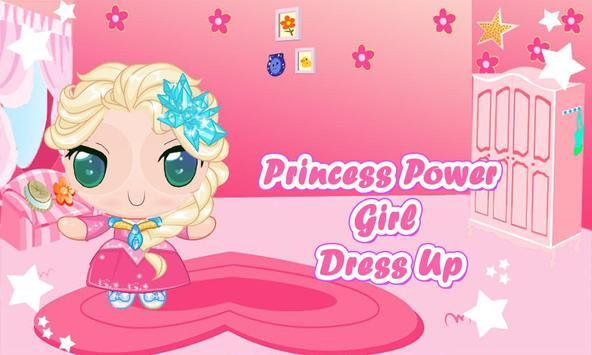 Power Princess girls Dress Up poster