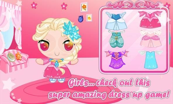 Power Princess girls Dress Up screenshot 1