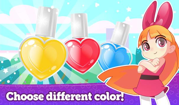 Manicure with power girl apk screenshot