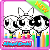 Coloring Powerpuff Kids icon