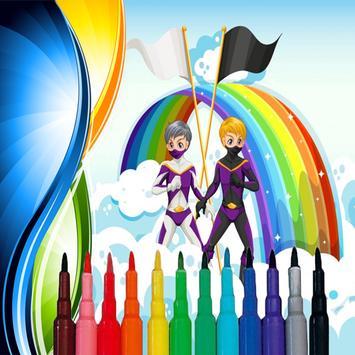 Coloring Power Rangers - Coloring Book screenshot 3