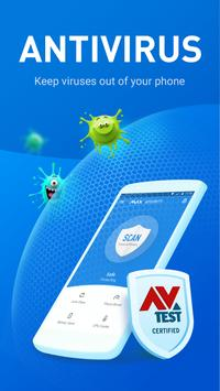 MAX Security - Antivirus, Virus Cleaner, Booster poster