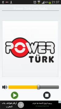 POWER TÜRK Radio Live FM poster