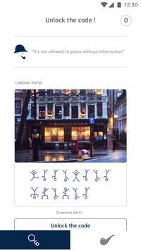 Sherlock's Clue screenshot 1