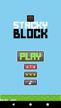 Stacky Block poster