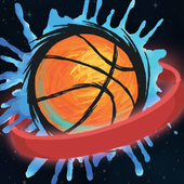 Flappy Basket Dunk (Out Space edition 2017) FREE icon
