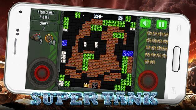 Super Tank Blitz Offline: Battle City 1990 poster