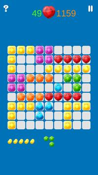 Jelly Puzzle Grid poster