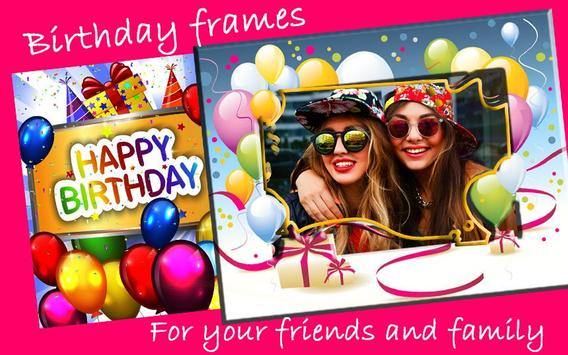 Happy Birthday Photo Frames APK Download - Free Photography APP for ...