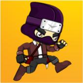 Ninja runner icon