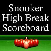 Snooker High Break Scoreboard icon