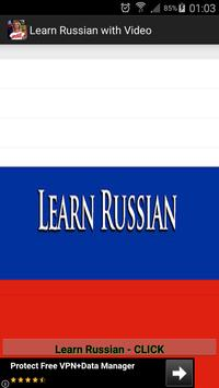 Learn Russian With  Videos poster