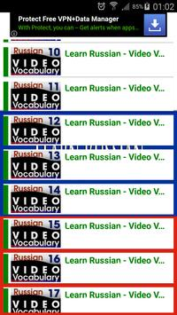 Learn Russian With  Videos apk screenshot