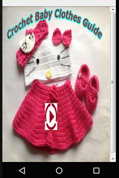 Crochet Baby Clothes Guide poster