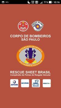 Rescue Sheet Brasil poster