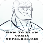 How to Draw Comic Superheroes icon