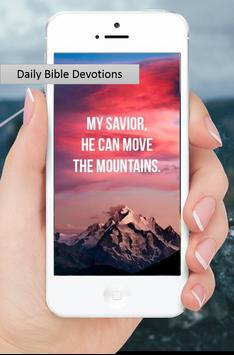 Daily Bible Devotions poster