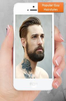 Popular Guy hairstyles apk screenshot