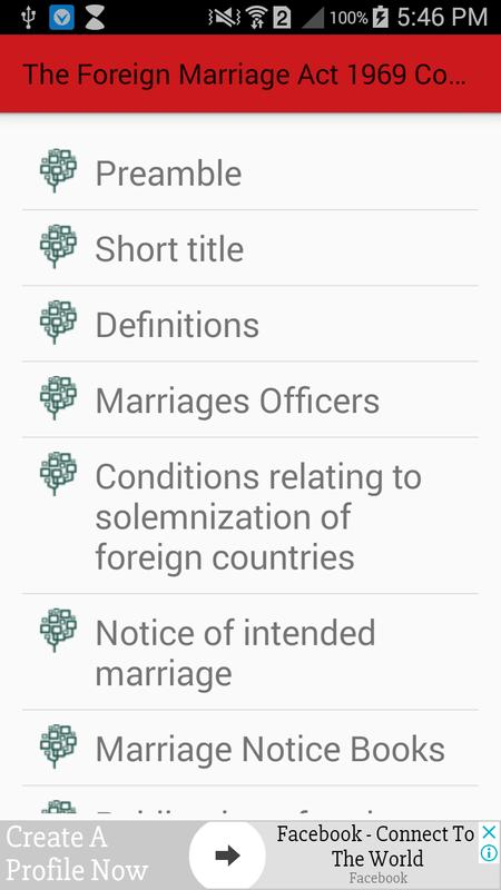 The foreign marriage act 1969 complete reference apk download free the foreign marriage act 1969 complete reference apk screenshot thecheapjerseys Choice Image