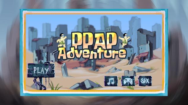 PPAP Adventure Run Game poster