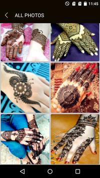 Fancy Mehndi Designs & Images screenshot 1