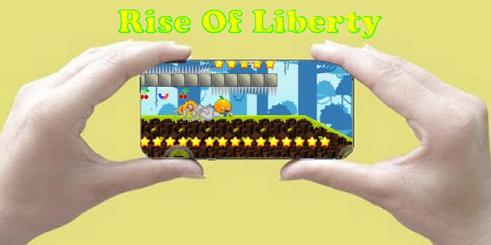 Adventure Rise Of Liberty poster