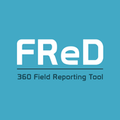 FReD – 360 Field Reporting icon