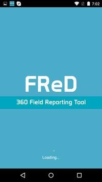 FReD – 360 Field Reporting poster