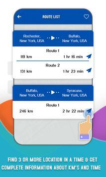 Find Distance Between Cities apk screenshot