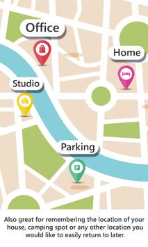 Car Park Location Navigation screenshot 1