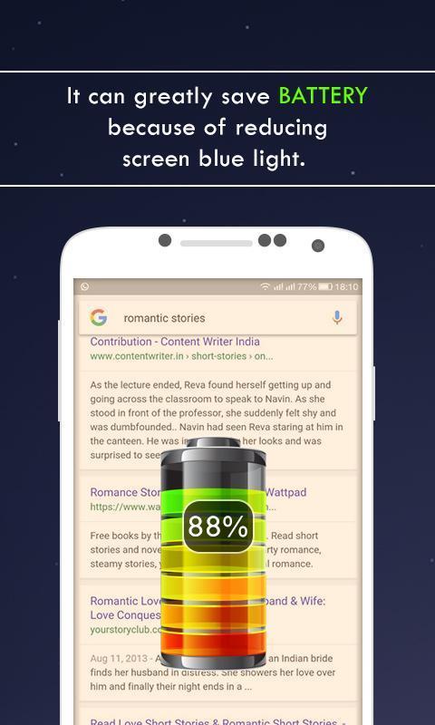blue light filter apk free