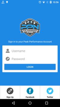 Peak Performance Network screenshot 1