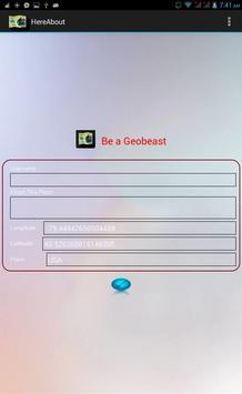 HereAbout apk screenshot