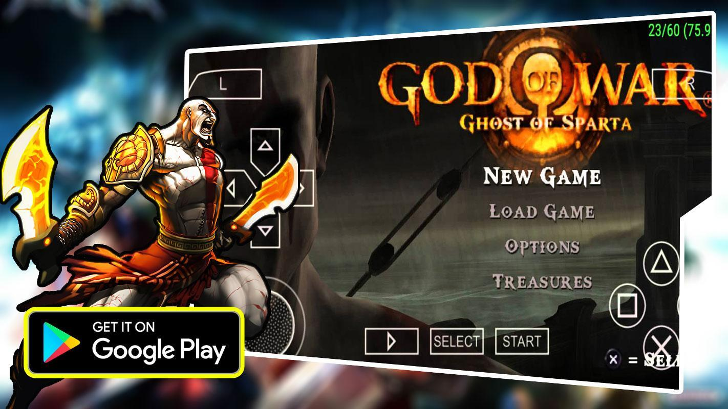 New PPSSPP God of War Ghost of Sparta Guide for Android