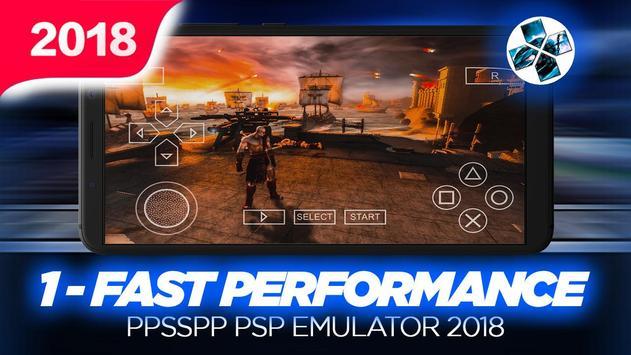 Ultimate Ppssp Emulator For PSP 2018 poster
