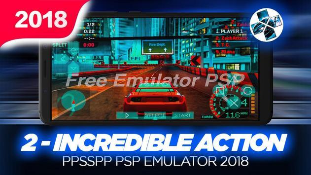 Ultimate Ppssp Emulator For PSP 2018 screenshot 1