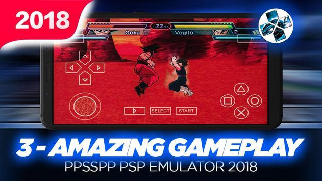 Ultimate Ppssp Emulator For PSP 2018 screenshot 2