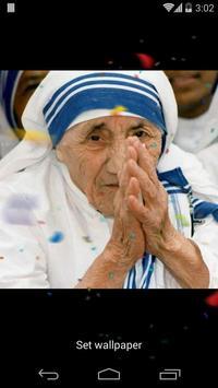 Mother Teresa 3D Effects apk screenshot