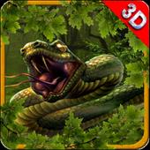 Angry Anaconda Attack Snake icon