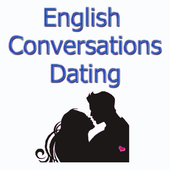 English conversation in dating icon