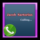Jacob Sartorius fake caller icon