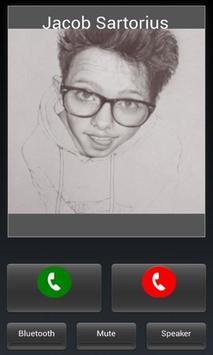 Jacob Sartorius fake caller screenshot 1
