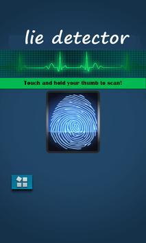 Lie detector scan prank poster