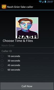Nash Grier fake caller poster