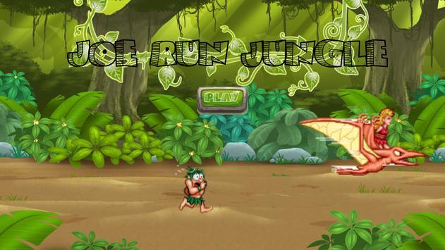 Joe Run In Jungle apk screenshot