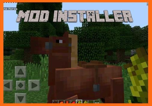 Horse Mod for MCPE Installer poster