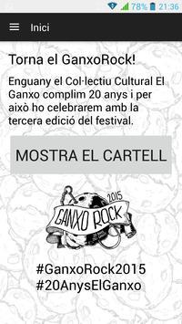 Ganxo Rock poster