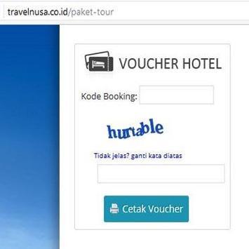 TRAVELNUSA MOBILE TRAVEL screenshot 3